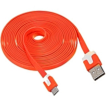 USB Charging Cable Android - orange