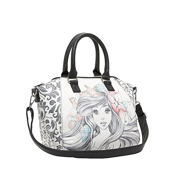 Disney The Little Mermaid Satchel Bag White