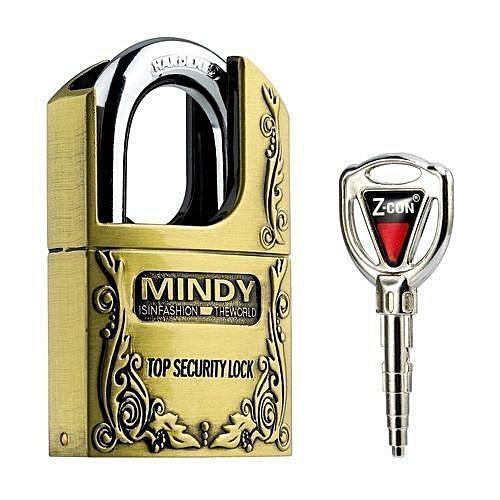 Padlock with Keys, 70mm large