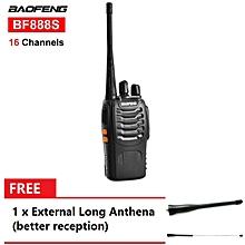 BaoFeng BF-888S 16 Channel Walkie Talkie Set UHF 5W FREE 1 x External Long Anthena