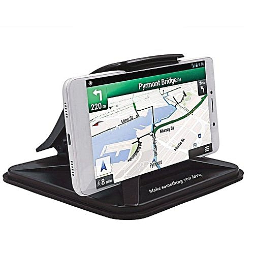 huge discount c0c92 52645 Cell Phone Holder for Car, Non-slip Dash Pad Car Phone Mount GPS Holder for  iPhone 7 Plus 8 Plus X Samsung Galaxy Note 8 S8 Plus S7 and 3-7 inch ...