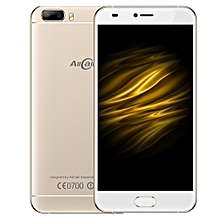 AllCall Bro, 1GB+16GB, Dual Back Cameras, Front Fingerprint Identification, 5.0 inch Android 7.0 MTK6580A Quad Core up to 1.3GHz, Network: 3G, OTG, Dual SIM(Gold)