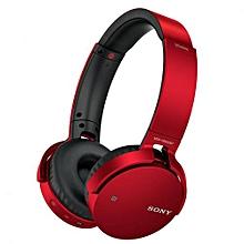 MDR-XB650BT - Headphones - Red