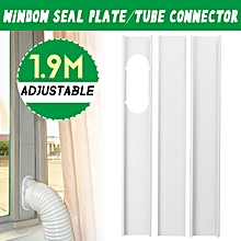 3x 1.9M Window Plate Exhaust Hose Tube Connector Fit Portable Air Conditioner
