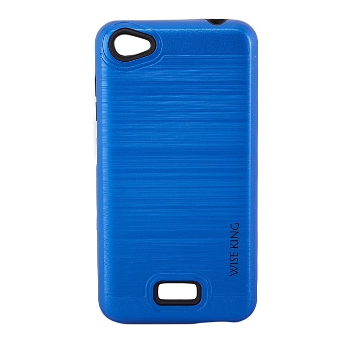 new style 581a3 7444c Techno WX3 Back Cover- Armor case Blue.