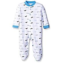 Baby Sleep & Play Baby Pyjamas - Blue