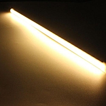 36SMD LED Rigid Strip Light Solid State DC12V 6.3W 21LED 378LM Milky Cover Warm White