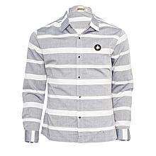 Classic Grey Casual Shirt