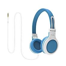 IMPULSE- Blue Kids Safe On EAR Wired Headset