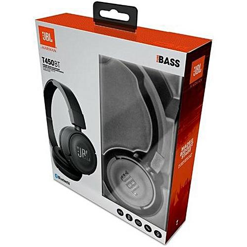 Buy Jbl T450bt Bluetooth On Ear Headphones Black At Best Price