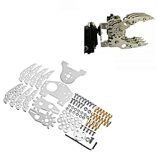 Aluminum DIY Mechanical Robot Arm Claw For 6DOF 8 Degrees of Freedom Mechanical Robot Arm
