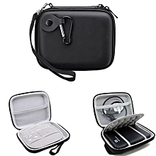 Black Shockproof Hard Travel Case Bag For WD Seagate External HDD Hard Drive