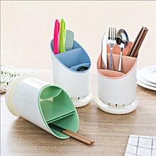 Dining Organizer Tool Chopsticks Spork Spoon Cutlery Holder Drying Rack