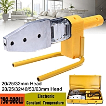 Electric Pipe Welding Machine Heating 900W For PPR PE PP PPC Tube +20-63MM Heads