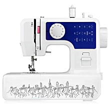 Household Sewing Machine With 12 Different Stitches EU Plug - Blue