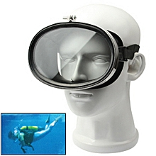 Standard Wide View Floating Goggles Dive Fitting(black)