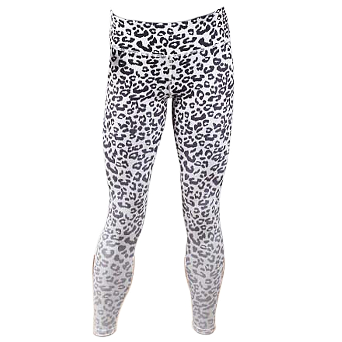 2755427453dd8 Women Sports Yoga Leggings Leopard Print Stretchy Sportswear Fitness  Workout Skinny Bodycon Pants Tights Trousers