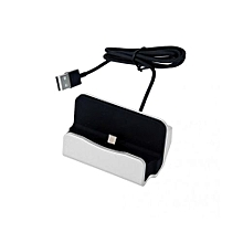 USB Charging Sync Dock Stand Station Cradle Charger For iPhone6/6PLUS Silver
