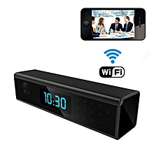1920x1080 HD WIFI Hidden Spy Camera Clock Night Vision 1080P Wireless Covert Nanny Cam Support Android/iOS Phone View Video Monitor Recording For Home Security Motion Dection LBQ
