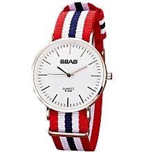 guoaivo SBAO  Fashion Temperament Vintage Couple Simple High-end Watches - Multicolor C