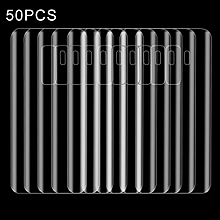 50 PCS for Galaxy S9+ Ultra-thin PET Back Screen Protector Film