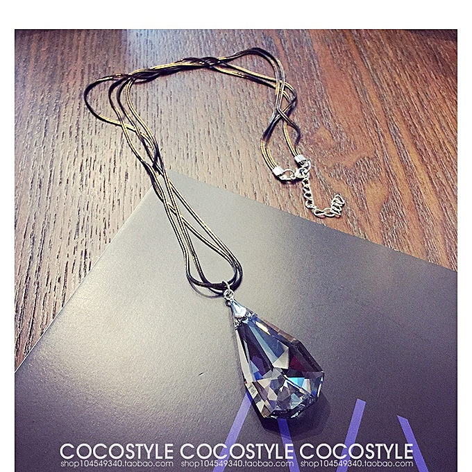2bfe7bc3b ... is korean necklace flood drop ball long amount of money chain korean  sweater chain the personality ...