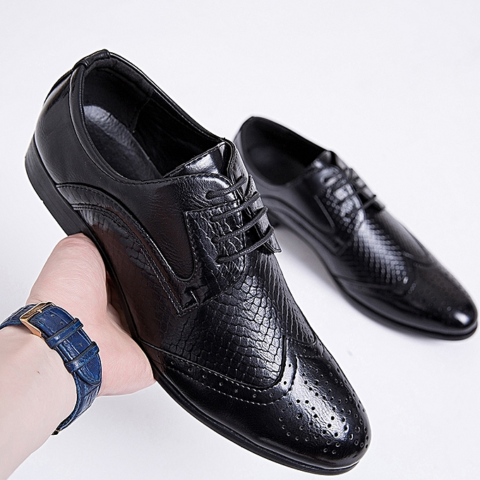 Generic Eur Size 39 46 European Style Handmade Leather Men Shoes
