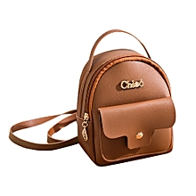Xiuxingzi Fashion Ladies shoulders Small Backpack Letter Purse Mobile Phone Bag