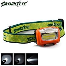 Camping & Hiking Flashlight 3W Mini Headlight 300Lumens LED Headlamp Flashlight Lamp Head Torch Camping