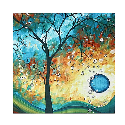 Generic Art Print Tree Of Life Shower Curtain Bathroom Decorated Curtains 66 X 72 Inches