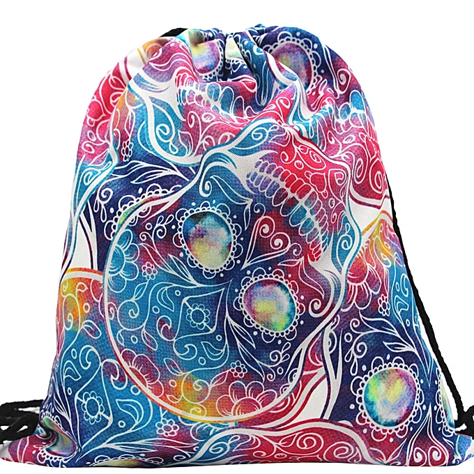 Singedansmall Backpack Women 3d Printing Travel Softback Men Mochila Bag C