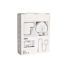 Generic 10Watts - USB Power Adapter For iPad/iphone 6/6 plus/5/5s/4G/5G - White