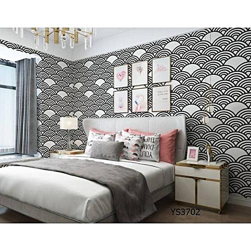 Generic Black & White Modern Wallpaper