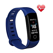 """R8C - 0.96"""" Smart Bracelet 80mAh Shaking Control Camera For Android IOS - Blue"""