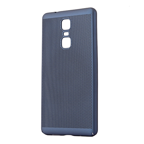 new style 78686 22784 INFINIX Note 3 PRO Back Cover - Navy Blue With Permeate Finish