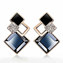 Hot Earrings For Women Luxury Drop Earrings Crystal Shiny Jewellery Fashion Accessories One Pair