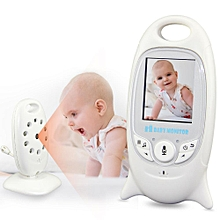 2.4G Wireless Baby Monitor 2 inch Electronic Video Camera Two-way Audio Automatic Night Vision Temperature Monitoring IP Camera # US