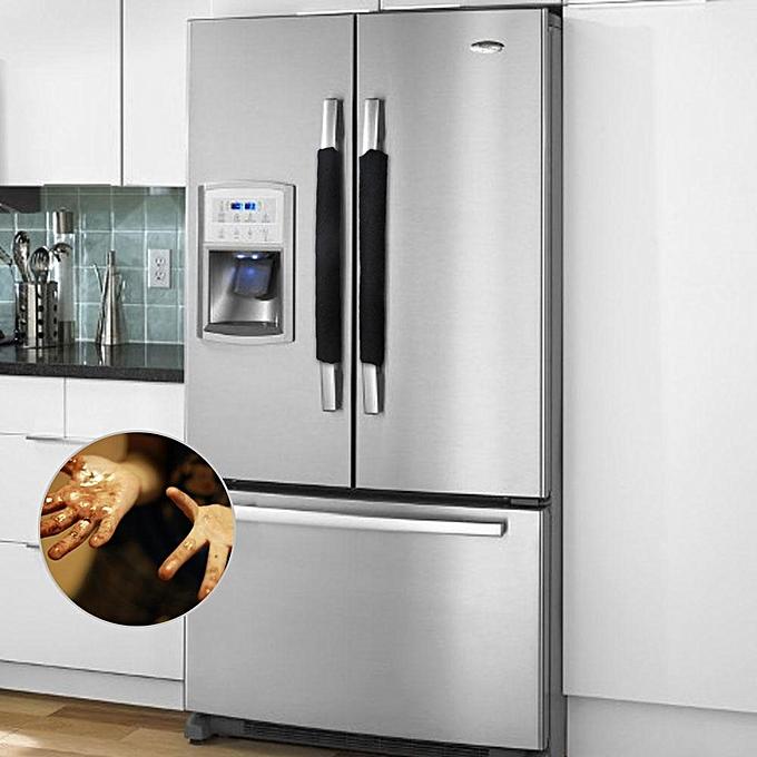 Buy Louis will Refrigerator Dust Door Handle Covers,Kitchen ...