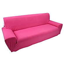 3 Seater Solid Color Stretch Elastic Slip Resistant Sofa Slipcover