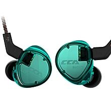 CCA C04 HIF In-ear Earphone Headset-GREEN