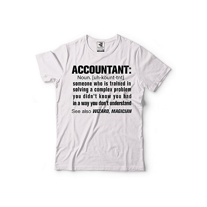 e1f251c2a Fashion Accountant T-Shirt Funny Accounting CPA Occupation Tee Shirt ...
