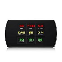 OBD Smart Digital Meter Speed Voltage RPM HD Heads Up Display Car Vehicle HUD