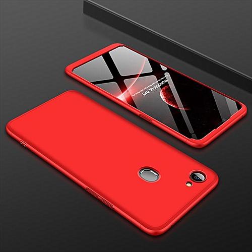 hot sale online 99953 2ef00 360 Degree Full Cover Case For OPPO F7 Case Luxury Plastic Case For OPPO F7  Phone Bag 6.23''