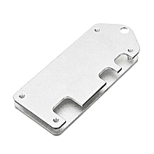 1 Piece Ultra-thin ZV2 CNC Aluminum Alloy Protective Case Case With Screwdriver For Raspberry Pi Zero / W(Silver)