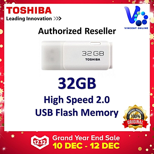 Toshiba Toshiba Hayabusa USB Flash Drive/Pendrive 32GB LJMALL