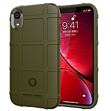 Full Coverage Shockproof TPU Case for iPhone XR(Green)