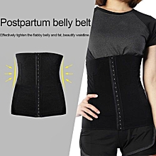 Breathable Postpartum Recovery Belly Belt Elastic Front Buckle Waist Shaping Band