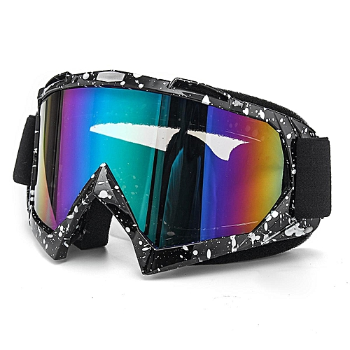 Generic Off Road Motorcycle Goggles Motocross ATV Dirt Bike Anti-UV Dust Racing Glasses