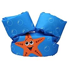 UJ Toddler Life Jacket Kids Swim Vest Arm Bands Swimming Float Bubble Swimsuit-multi-color