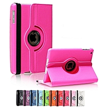 IPad Air / New 9.7 (2017) Rotational Cover Ultra Slim Smart Cover PU Leather Case for Apple / Free Stylus Pen Mll-S
